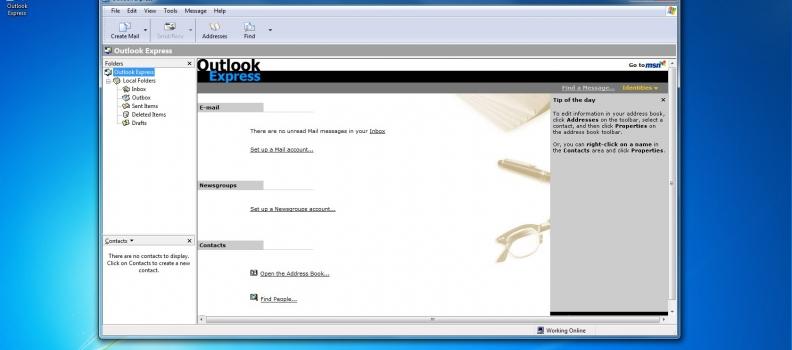 Configurar mail en Outlook Express