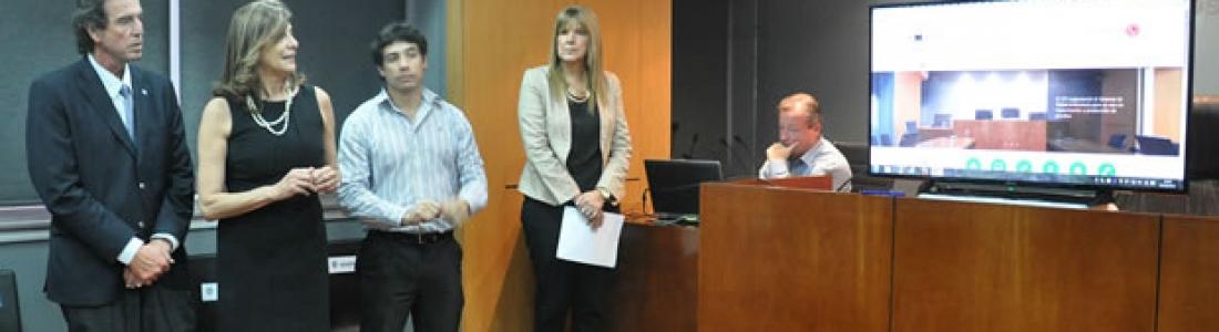 Grandi y Asociados estuvo a cargo del lanzamiento del nuevo sitio web del Poder Judicial de Entre Ríos